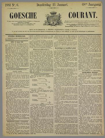 Goessche Courant 1881-01-13