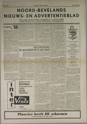 Noord-Bevelands Nieuws- en advertentieblad 1966