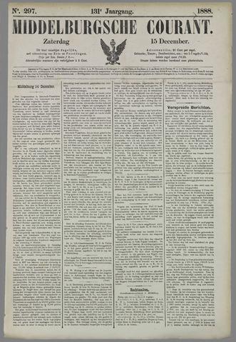 Middelburgsche Courant 1888-12-15