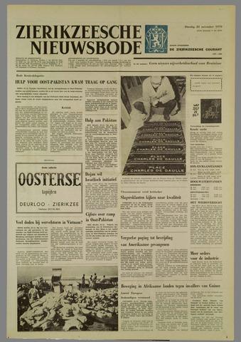 Zierikzeesche Nieuwsbode 1970-11-24