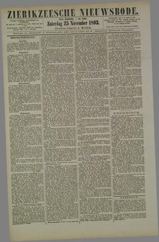 Zierikzeesche Nieuwsbode 1893-11-25