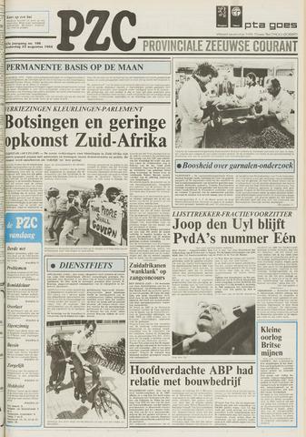 Provinciale Zeeuwse Courant 1984-08-23