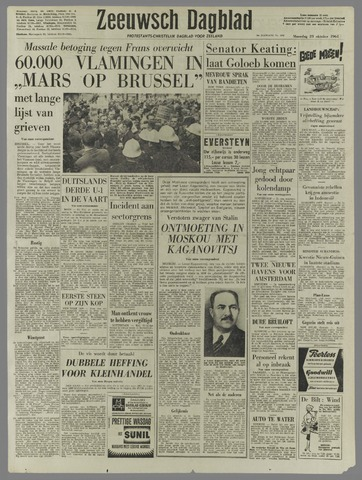 Zeeuwsch Dagblad 1961-10-23