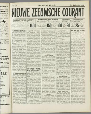 Nieuwe Zeeuwsche Courant 1917-05-10