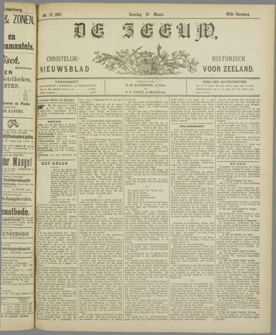 De Zeeuw. Christelijk-historisch nieuwsblad voor Zeeland 1897-03-20
