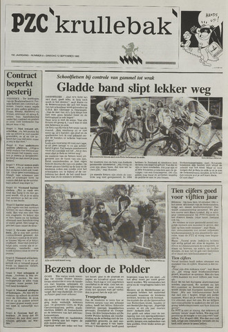 Provinciale Zeeuwse Courant katern Krullenbak (1981-1999) 1995-09-12