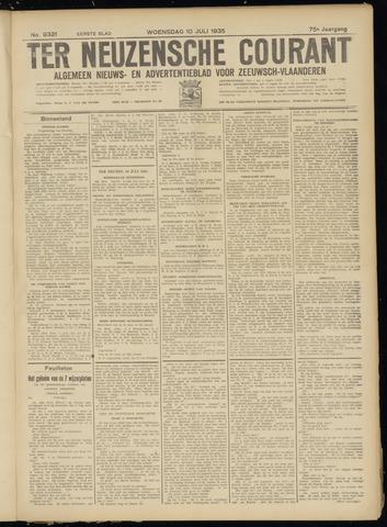 Ter Neuzensche Courant. Algemeen Nieuws- en Advertentieblad voor Zeeuwsch-Vlaanderen / Neuzensche Courant ... (idem) / (Algemeen) nieuws en advertentieblad voor Zeeuwsch-Vlaanderen 1935-07-10