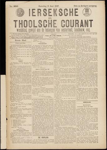 Ierseksche en Thoolsche Courant 1917-06-09