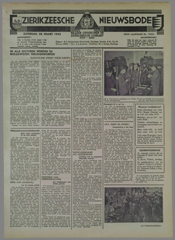 Zierikzeesche Nieuwsbode 1942-03-28