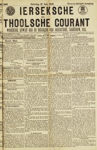 Ierseksche en Thoolsche Courant 1916-06-17