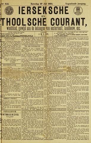 Ierseksche en Thoolsche Courant 1901-07-27