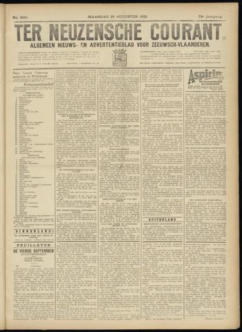 Ter Neuzensche Courant. Algemeen Nieuws- en Advertentieblad voor Zeeuwsch-Vlaanderen / Neuzensche Courant ... (idem) / (Algemeen) nieuws en advertentieblad voor Zeeuwsch-Vlaanderen 1932-08-29