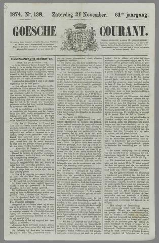 Goessche Courant 1874-11-21