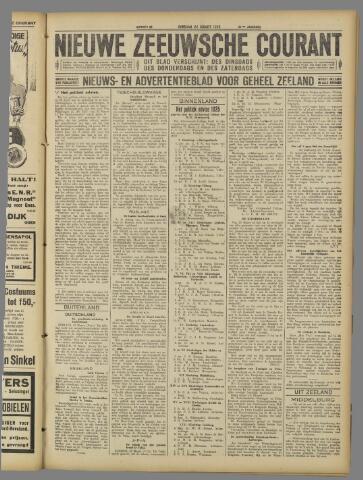 Nieuwe Zeeuwsche Courant 1925-03-24