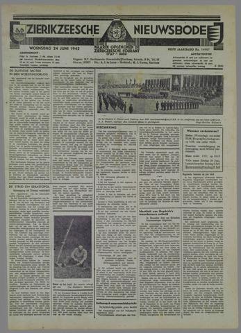 Zierikzeesche Nieuwsbode 1942-06-24