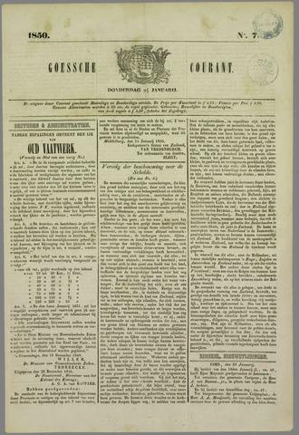 Goessche Courant 1850-01-24