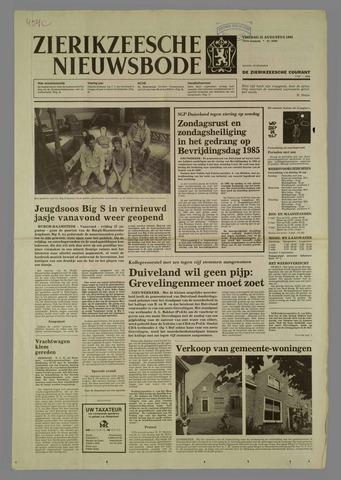 Zierikzeesche Nieuwsbode 1984-08-31