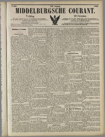 Middelburgsche Courant 1903-10-23