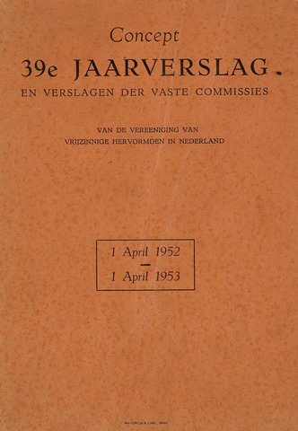 Watersnood documentatie 1953 - brochures 1952