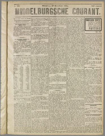 Middelburgsche Courant 1922-10-17