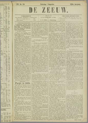 De Zeeuw. Christelijk-historisch nieuwsblad voor Zeeland 1891-08-01