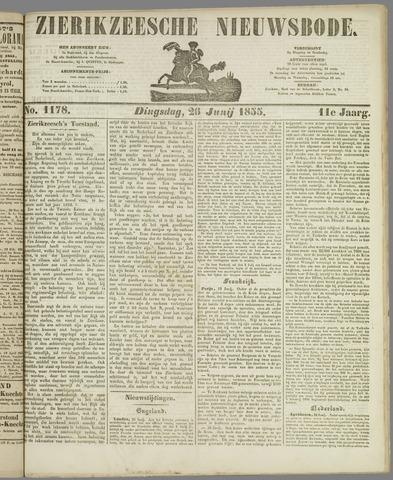 Zierikzeesche Nieuwsbode 1855-06-26