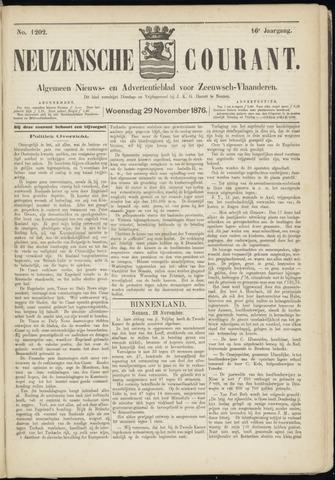 Ter Neuzensche Courant. Algemeen Nieuws- en Advertentieblad voor Zeeuwsch-Vlaanderen / Neuzensche Courant ... (idem) / (Algemeen) nieuws en advertentieblad voor Zeeuwsch-Vlaanderen 1876-11-29