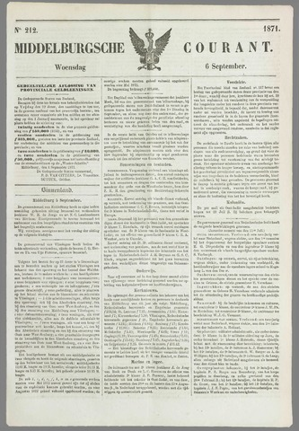 Middelburgsche Courant 1871-09-06