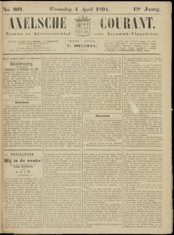 Axelsche Courant 1894-04-04