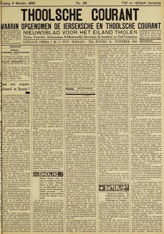 Ierseksche en Thoolsche Courant 1937-10-08