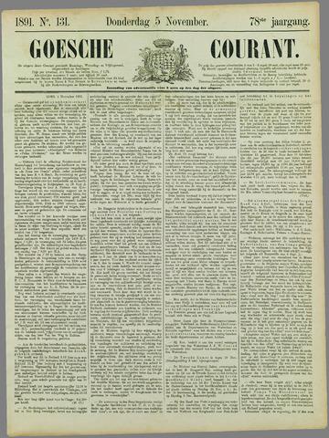 Goessche Courant 1891-11-05