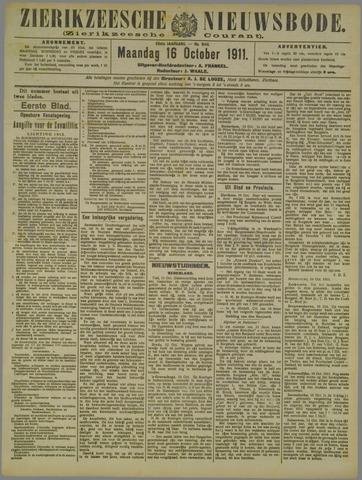 Zierikzeesche Nieuwsbode 1911-10-16