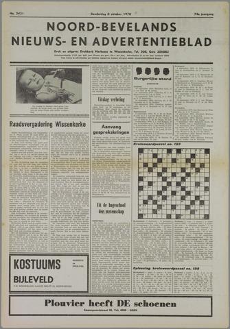 Noord-Bevelands Nieuws- en advertentieblad 1970-10-08