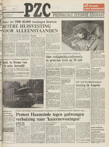 Provinciale Zeeuwse Courant 1975-07-15