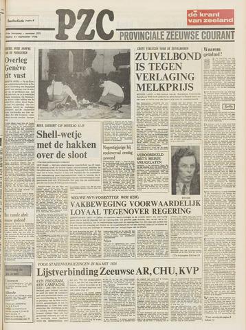 Provinciale Zeeuwse Courant 1973-09-21