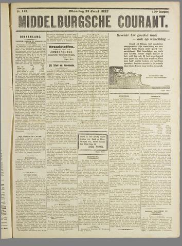 Middelburgsche Courant 1927-06-21