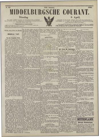Middelburgsche Courant 1902-04-08
