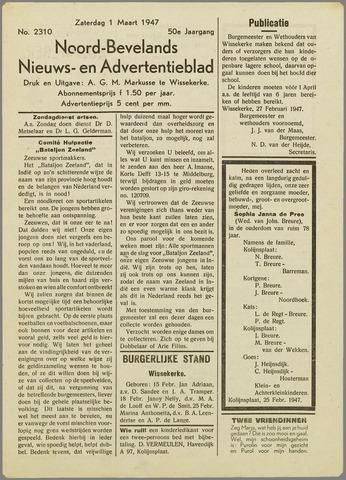 Noord-Bevelands Nieuws- en advertentieblad 1947-03-01