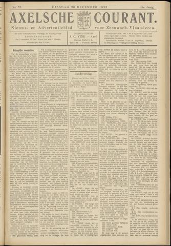 Axelsche Courant 1932-12-20