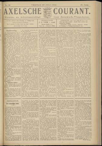 Axelsche Courant 1932-07-29