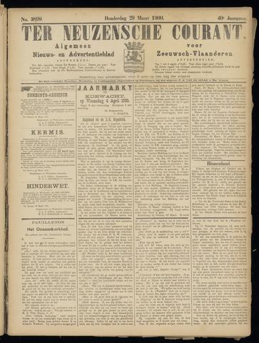 Ter Neuzensche Courant. Algemeen Nieuws- en Advertentieblad voor Zeeuwsch-Vlaanderen / Neuzensche Courant ... (idem) / (Algemeen) nieuws en advertentieblad voor Zeeuwsch-Vlaanderen 1900-03-29
