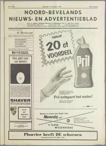Noord-Bevelands Nieuws- en advertentieblad 1964-11-14
