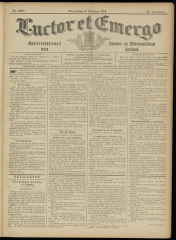 Luctor et Emergo. Antirevolutionair nieuws- en advertentieblad voor Zeeland / Zeeuwsch-Vlaanderen. Orgaan ter verspreiding van de christelijke beginselen in Zeeuwsch-Vlaanderen 1915-10-06