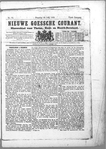 Nieuwe Goessche Courant 1869-07-20