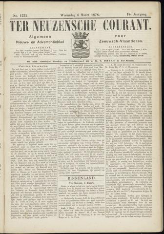 Ter Neuzensche Courant. Algemeen Nieuws- en Advertentieblad voor Zeeuwsch-Vlaanderen / Neuzensche Courant ... (idem) / (Algemeen) nieuws en advertentieblad voor Zeeuwsch-Vlaanderen 1878-03-06