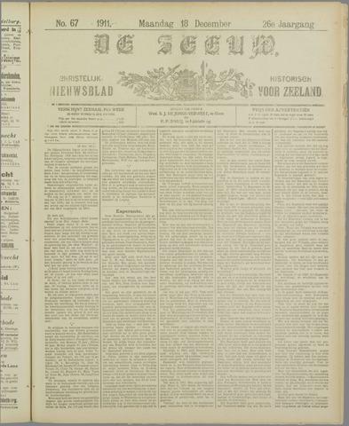 De Zeeuw. Christelijk-historisch nieuwsblad voor Zeeland 1911-12-18