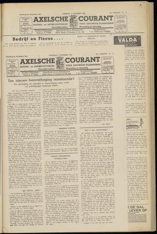 Axelsche Courant 1952-11-05