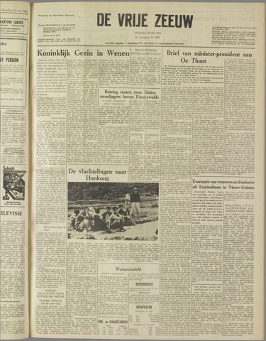 de Vrije Zeeuw 1962-05-22