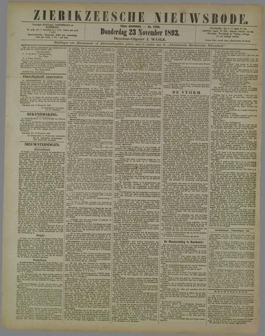Zierikzeesche Nieuwsbode 1893-11-23
