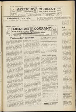 Axelsche Courant 1950-07-05